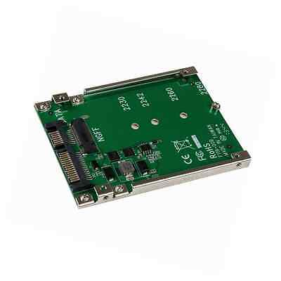 StarTech M.2 SSD to 2.5 inch SATA Adapter Converter with Open Frame Housing