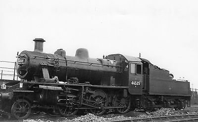Photo Ex LMS Class 2MT No 46526 at St Phillips Marsh shed yard on 4/9/62