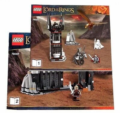 LEGO Lord of the Rings Battle at the Black Gate ORIGINAL INSTRUCTIONS ONLY 79007