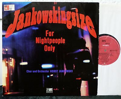 MPS  Horst Jankowski  SIGNIERT - Jankowskingsize For Nightpeople Only   LP