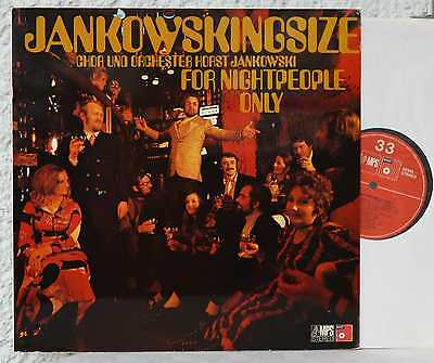 MPS  HORST JANKOWSKI - Jankowskingsize For Nightpeople Only   LP