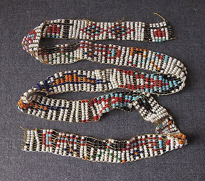 Vintage Native American Pattern Beaded Trim For A Project