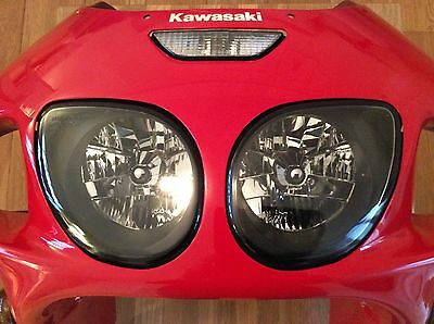 KAWASAKI ZX7R Zx-7r HEAD LIGHT, HEAD LAMP, HEADLIGHT, HEADLAMP, TWIN LIGHTS