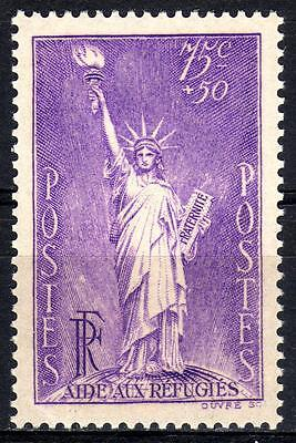 France - Statue Of Liberty  1936-37 Mint Never Hinged