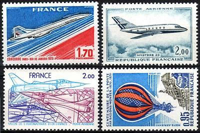 France  Air Post Planes Mint Never Hinged (2)