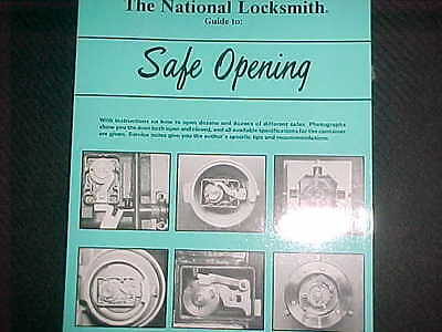 Vol1 Guide to Safe Opening  by Dave McOmi NEW BOOK , Locksmith,Safe tech.student