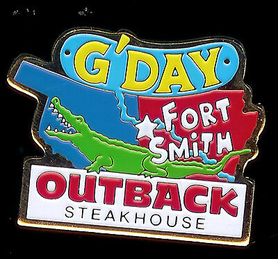 J2002 Outback Steakhouse Fort Smith G'Day MIB
