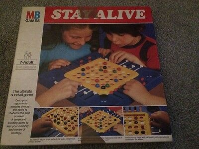 MB Board Games - Stay Alive (1975)