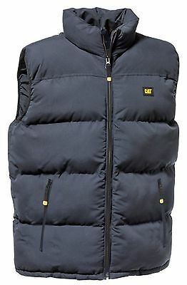 Caterpillar - Quilted Insulated Vest Navy - XL - Navy