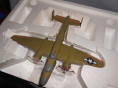 Franklin Mint 1/48 scale Armour B-25 MitchelI rare Store Display