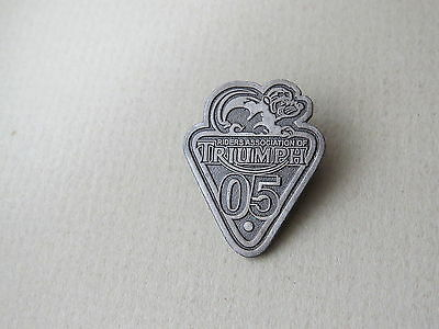 Triumph Motorcycle Badge  Riders Association Of Triumph 05