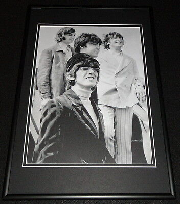 The Beatles in London 1966 Framed 12x18 Poster Photo Display