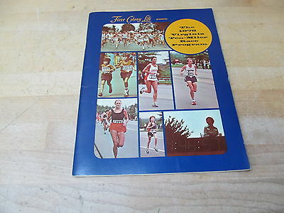 Vintage 1978 Virginia Ten Miler Race Program – First Colony Life Lynchburg, VA