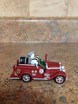 Department 56 City Fire Dept. Fire Truck Collectible Figurine 56.55476