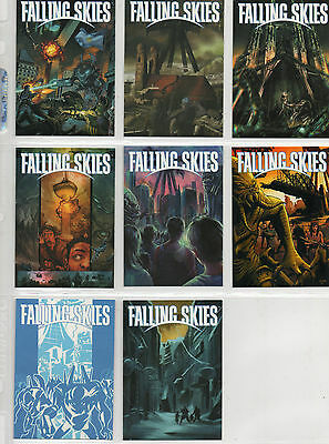 Falling Skies Season 2  -  lot of 8 different Graphic Novel Art chase cards NM