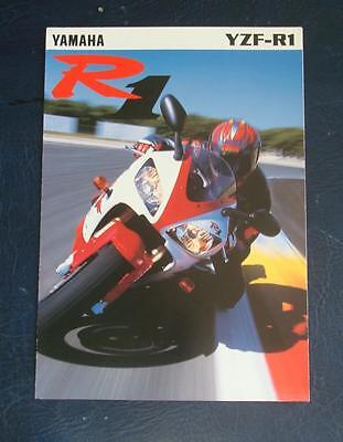 YAMAHA YZF-R1 1000cc - Motorcycle Sales Brochure - 1998 - #3MC-0107026-9E