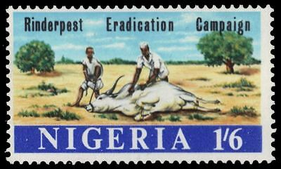 "NIGERIA 215 (SG206) - Cattle Plague Eradication Campaign ""Vaccination"" (pa25041)"