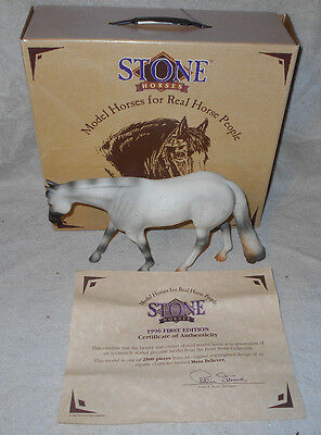 """1996 1st Edition Peter Stone No 9619 Western Horse """"Mesa Believer Ltd Ed of 2500"""