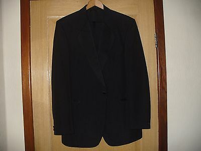 Evening Suit Dinner Suit - used size Jacket 40 reg / Trousers  expanding 31 - 34