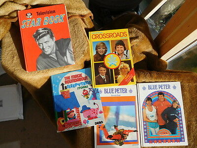 Hb Vintage Mix Of Annuals Tv Stars Crossroads Magic Roundabout 2 X Blue Peter
