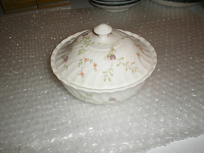 Wedgewood Bone China Floral Patterned Bowl / Dish With Lid
