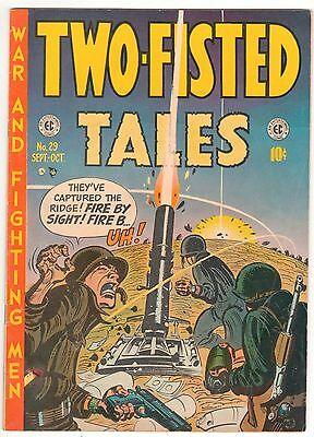 TWO FISTED TALES  #29  Sept/Oct 1952 - 10c - EC Very Good American COMICS