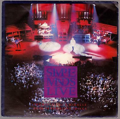 45 Giri Simple Minds Live Promised You A Miracle B/w Book A Brilliant Things