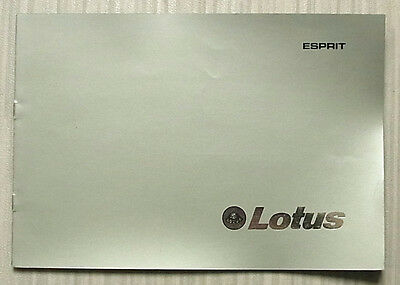 LOTUS ESPRIT S2 Two Seater SPORTS CAR Sales Brochure 1978