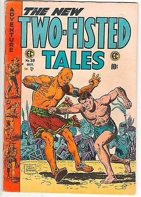 TWO FISTED TALES  #39  Oct 1954 - 10c - VG American COMICS