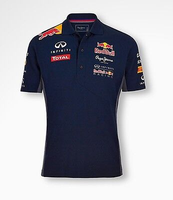 Red Bull Racing F1 Polo Team by Pepe Jeans - size Large
