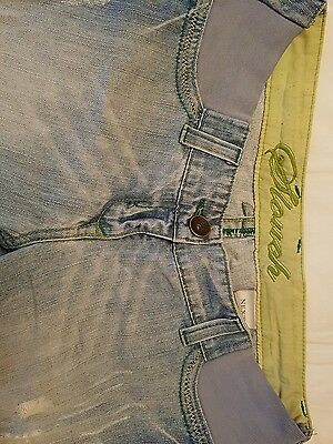Next Under The Bump Slouchy Ripped Jeans - Size 8 Short