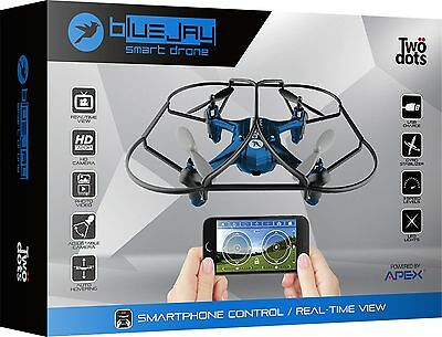 TWO DOTS Smartdrone Blue Jay
