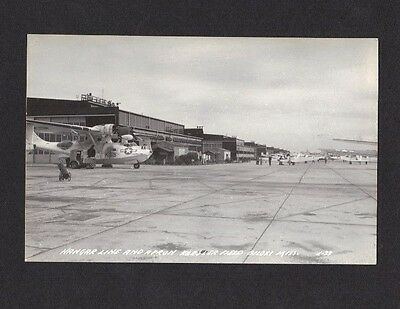 1945 Wwii Keesler Field Air Force Base Airplanes Biloxi Ms Real Photo Postcard