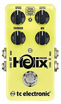 TC Electronic*HELIX PHASER*Guitar Phase Shifter Effects Pedal FREE 2D SHIP NEW
