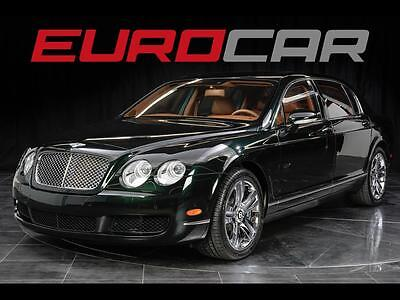 2006 Bentley Continental Flying Spur Flying Spur Sedan 4-Door Bentley Continental Flying Spur RARE BRITISH RACING GREEN, ONLY 12K MILES!!!