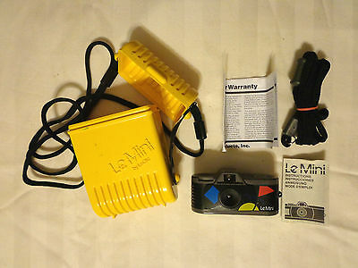 80's Retro RARE Le MINI by Le Clic 110 Film Camera in case EXCELLENT condition