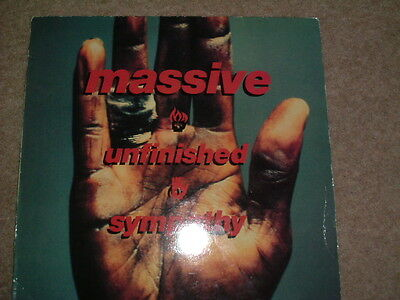 "Massiive Attack-Unfinished Sympathy Wild Bunch 12 "" Single"