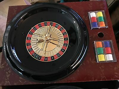 """Deluxe 12"""" Roulette Set new in box"""