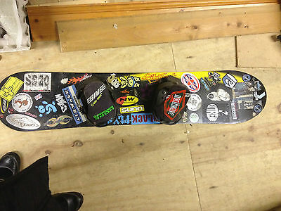 Nitro Snowboard Snow Board And Bindings 156cm Size M ? will add later