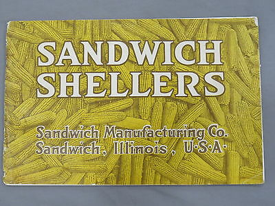 Vintage 1919 Sandwich Shellers sales Brochure catalog early original! Gas Engine