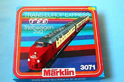 Marklin Excellent 3071 Trans Europe Express Boxed