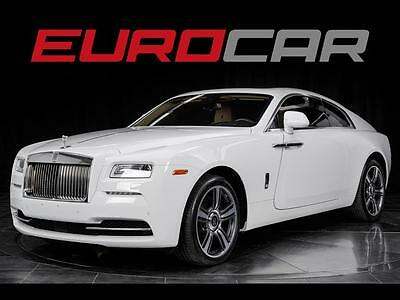 2014 Rolls-Royce Other Base Coupe 2-Door Rolls-Royce Wraith, HIGHLY OPTIONED, BLACK PIANO WOOD, STUNNING!!!