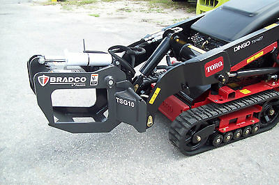 Vermeer SK Mini Loader Tree-Shrub Grapple by Bradco,Fits Most Mini Loaders, NEW