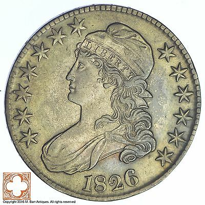 1826 Capped Busted Half Dollar *XB07