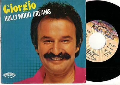 Giorgio -Hollywood Dreams- Ost Foxes Casablanca Italo Cosmic Disco Moroder