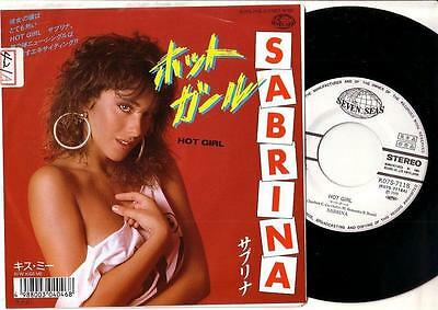 Sabrina -Promo 45- Hot Girl -Claudio Cecchetto Italo Disco Sexy Salerno