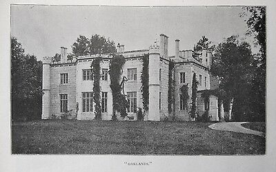 Scarce 1896 OAKLANDS MANSION Gardiner ME Maine 5 EARLY VIEWS-INDEPTH!