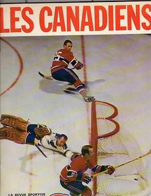 1969 Montreal Canadians Yearbook and Program v Oakland Seals; V. Nice!