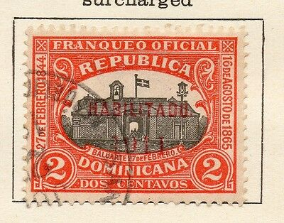 Dominican Republic 1911 Early Issue Fine Used 2c. 121868