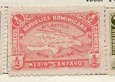 Dominican Republic 1900 Early Issue Fine Mint Hinged 1/2c. 121883
